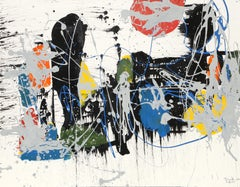 Abstract Composition III, Painting by Jenik Cook