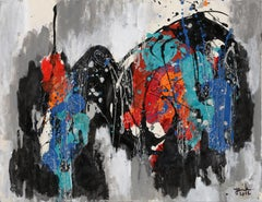 Abstract Composition XI, Painting by Jenik Cook