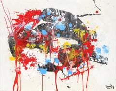 Abstract Composition XXI, Painting by Jenik Cook