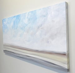 From Sea to Sky I, Abstract Painting