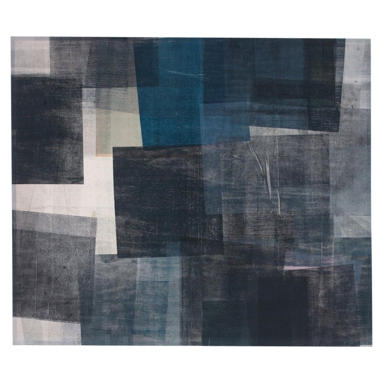 "Jenna Bauer ""Deep Blue Under"", Print on Canvas For Sale"