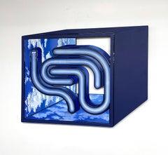 Inside, Outside_2021_Jenna Krypell, Wall Sculpture-MDF/Resin/Enamel_Abstract