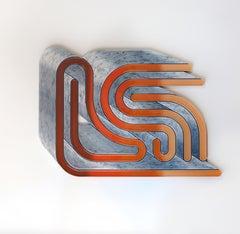 Patina, 2020, Jenna Krypell, Wall Sculpture-MDF, Resin, Enamel_Horizont/Vertical