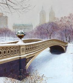 The Bow Bridge in Winter