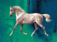 The Whitest Horse Blue #1
