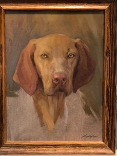 Exceptional Portrait sketch of a Polish Vistula dog