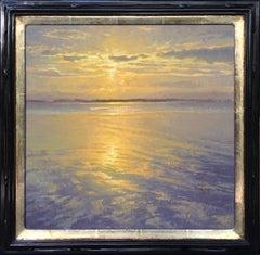 Glint of Summer by Jennifer Mosses. Original oil painting.