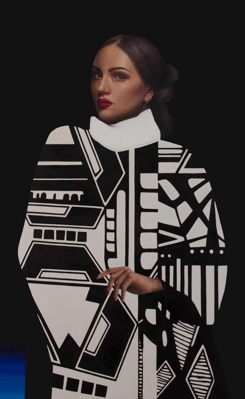 Jennifer Nehrbass Figurative Painting - Isabella