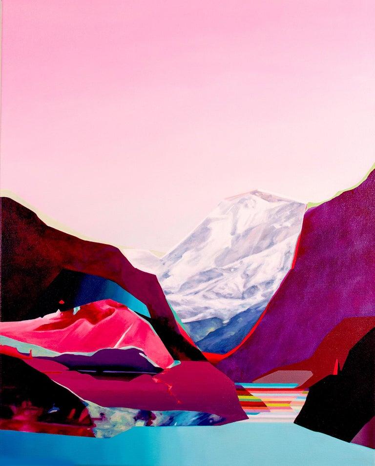Jennifer Nehrbass Landscape Painting - Twilight