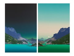 Nightscape, Dayscape (diptych)