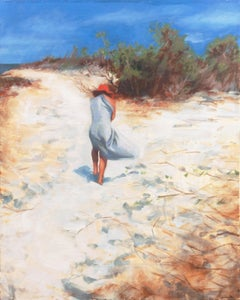 'At the Beach, Mexico near Sayulita', Santa Cruz, California Woman Artist