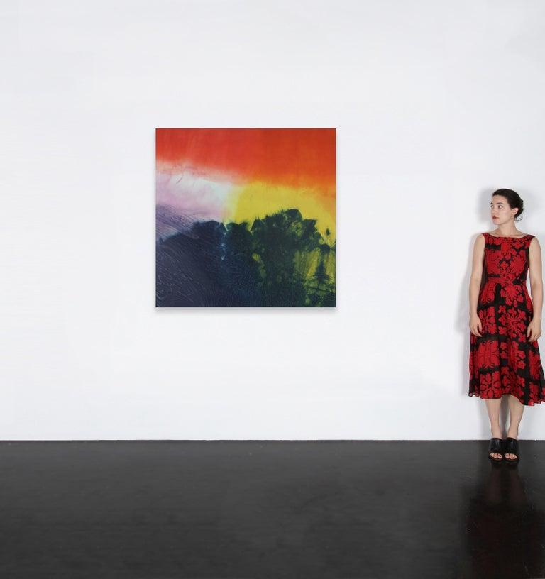 Dye Painting #9 - Photograph by Jennifer Wolf