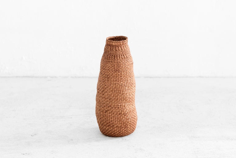 Jennifer Zurick, All In The Family, Set of Three Baskets, Willow Bark, 2019 In New Condition For Sale In Barcelona, ES