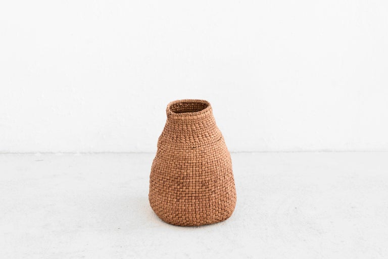 Contemporary Jennifer Zurick, All In The Family, Set of Three Baskets, Willow Bark, 2019 For Sale