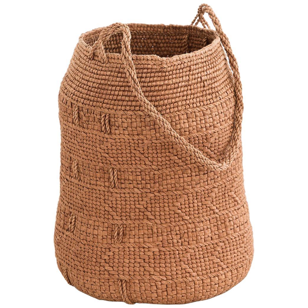 Jennifer Zurick UNTITLED #719, Basket, Willow Bark, American Contemporary Crafts