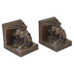 Jennings Brothers Bronze Bookends JB2462