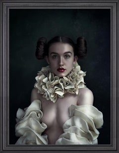 ''Luca'' Old Masters-inspired Chiaroscuro Female Portrait, Photography