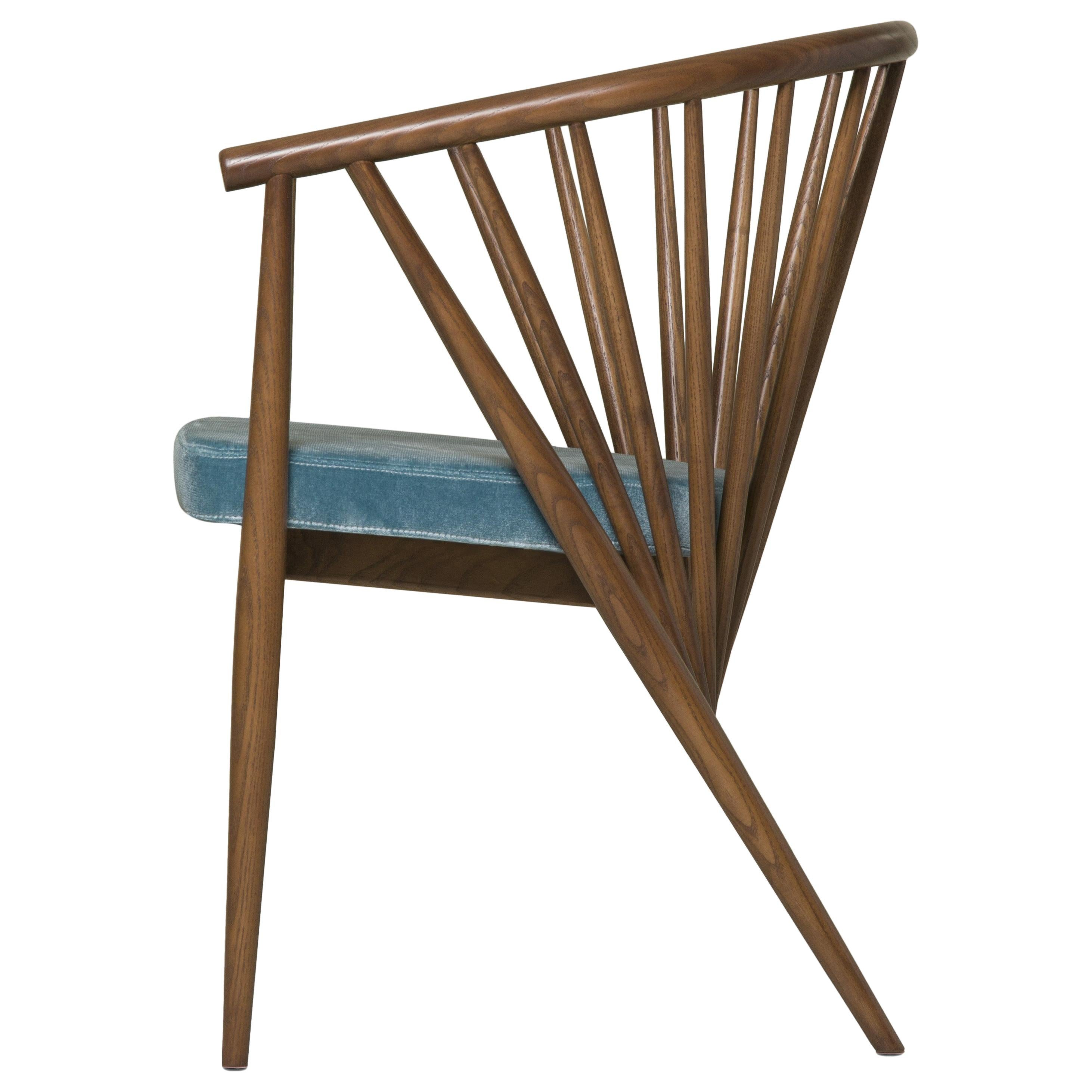Jenny by Morelato, Easy Chair in Hand Turned Ashwood