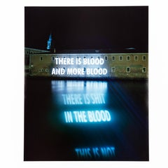 """Jenny Holzer """"There Is Blood"""""""
