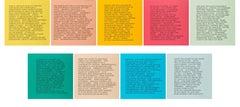 9 Inflammatory Essays 1979-1982 --Set of Nine, Print, Text Art by Jenny Holzer