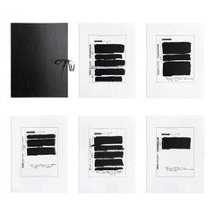 AKA, Portfolio of 5 Etchings, Contemporary Art, Conceptual Art