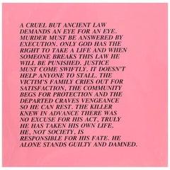 "Eye for an Eye, ""Inflammatory Essay"" (from Documenta 1982)"