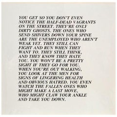 "Half-Dead, ""Inflammatory Essay"" (from Documenta 1982)"