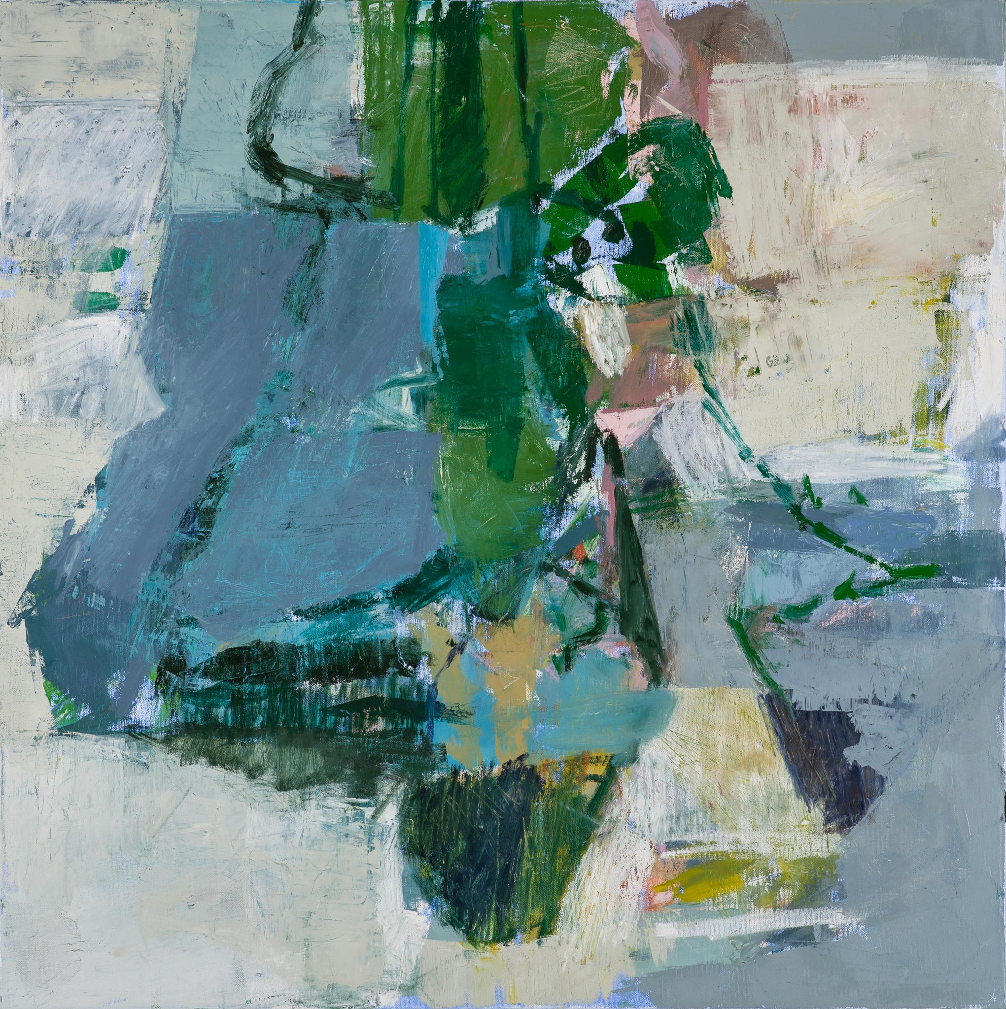 A Very Lucky Thing: Abstract Expressionist Painting by Jenny Nelson