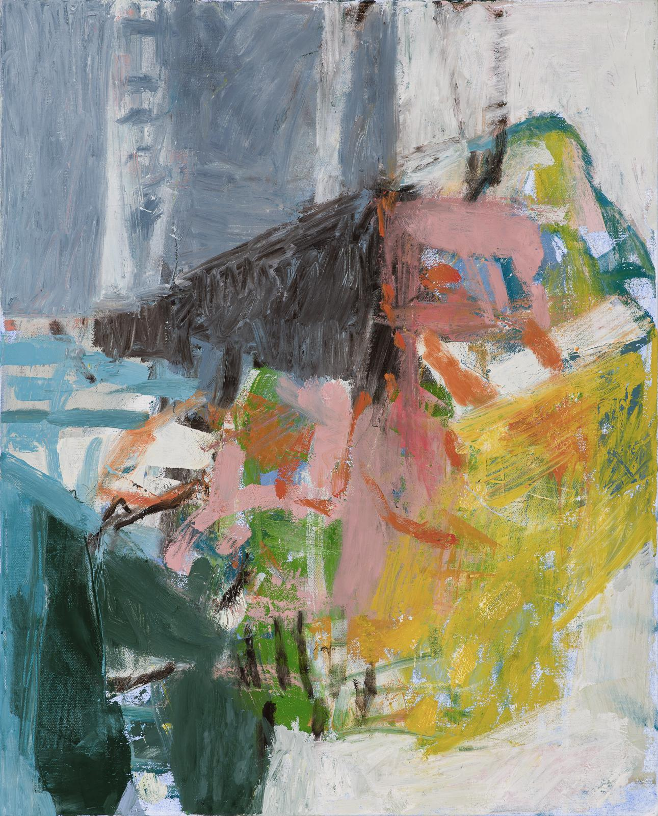What Do I know of This Place 1 (Abstract Expressionist Painting on Canvas)