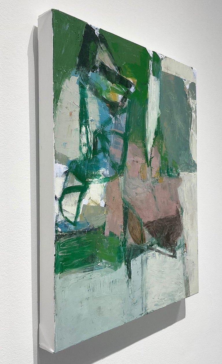 What Do I Know of This Place 3 (Vertical Abstract Expressionist Oil on Canvas)  For Sale 1