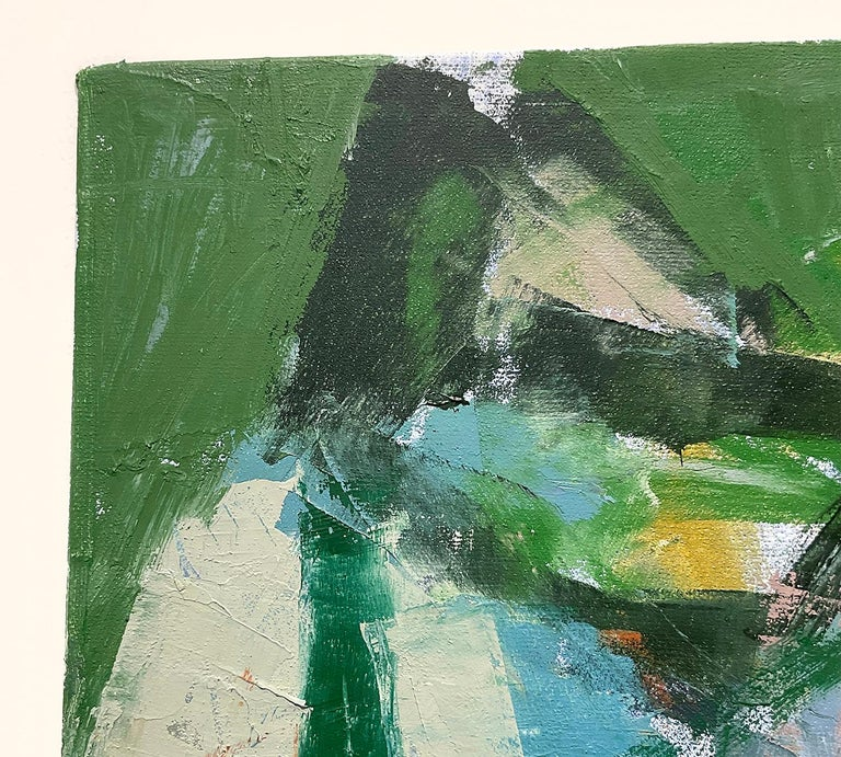 What Do I Know of This Place 3 (Vertical Abstract Expressionist Oil on Canvas)  For Sale 2