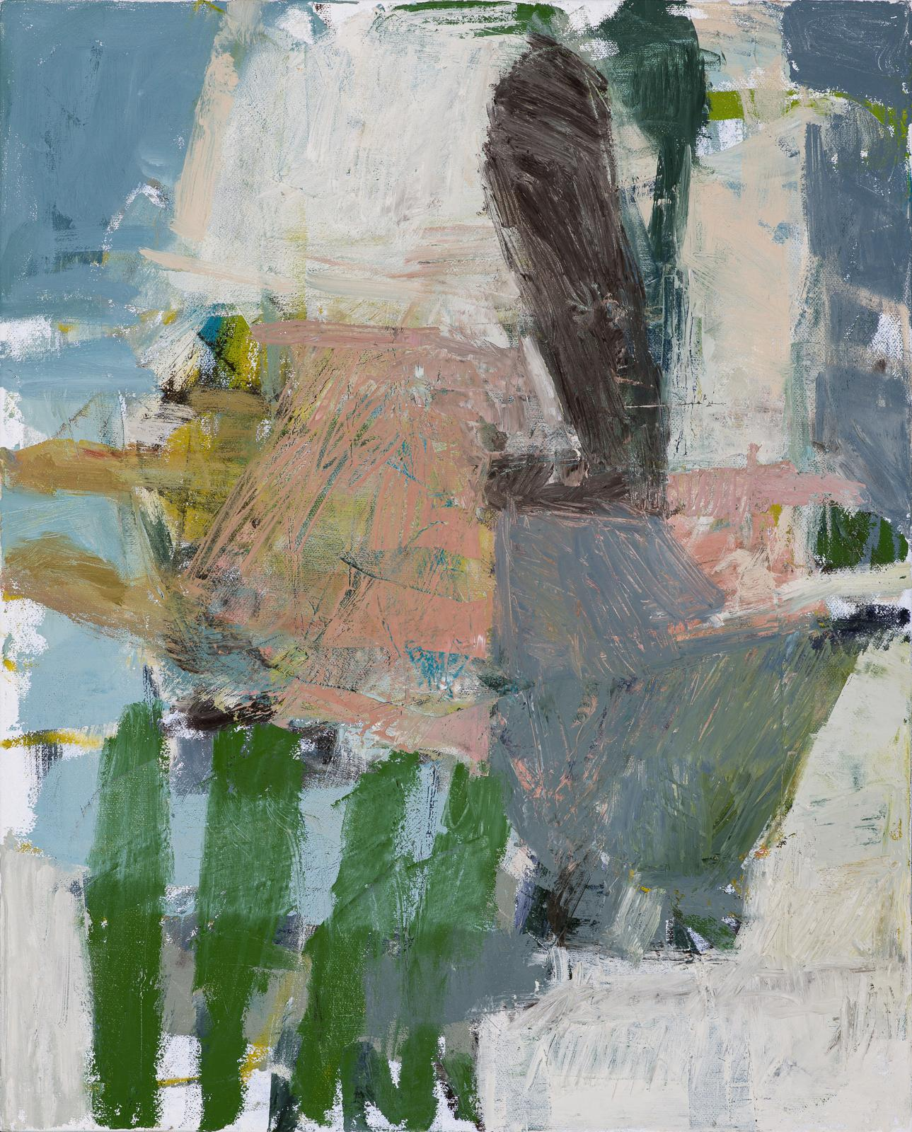 What Do I know of This Place 5 (Abstract Expressionist Painting on Canvas)