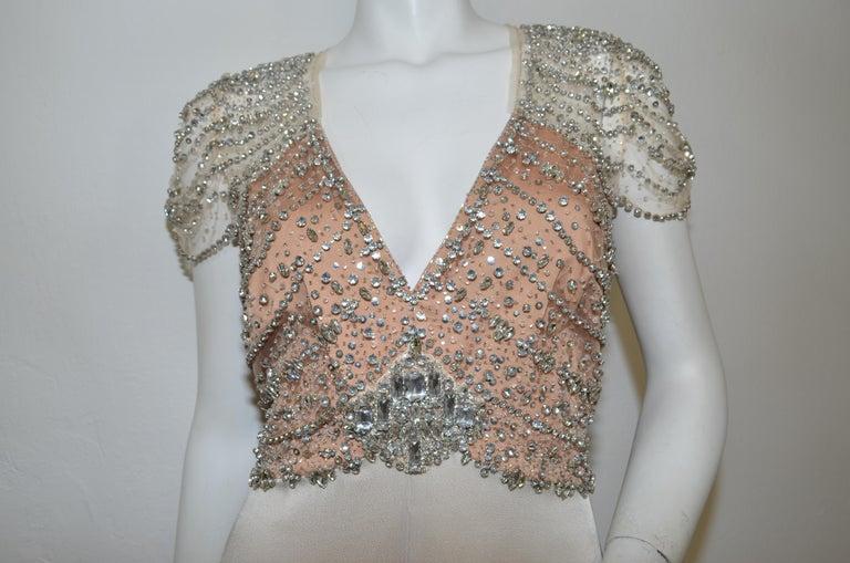 Kate Brings Back Blush Jenny Packham Gown for Norfolk Nook