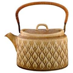 Jens H. Quistgaard for Bing & Grondahl, Relief Teapot, 1960s