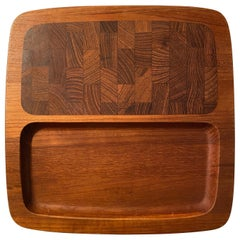 Jens H. Quistgaard Teak Serving Tray by Dansk