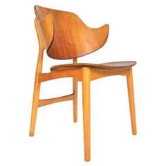 Jens Hjorth Teak + Oak Model 307 Side Chair
