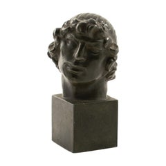 Jens Jacob Bregnø, Bronze Head Sculpture
