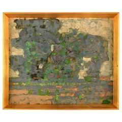 "Jens Peter Groth-Jensen '1918-2018' Danish Artist, Oil on Canvas, ""Green Garden"