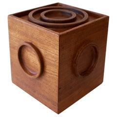 Jens Quistgaard Cube Ice Bucket by Dansk