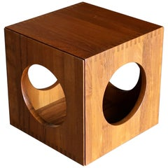 Jens Quistgaard Cube Occasional Tables for Richard Nissen, circa 1982