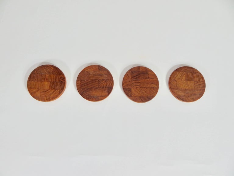 Set of four coasters by Jens Quistgaard JHQ for Dansk.