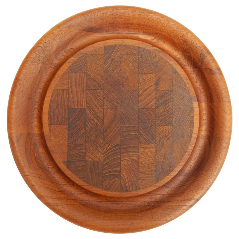 Jens Quistgaard for Dansk Teak Serving Tray In Excellent Condition For Sale In New York, NY