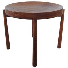 Jens Quistgaard Mid-Century Modern Round Tray Side Table