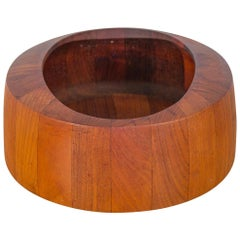 Jens Quistgaard Oval Teak Bowl for Dansk