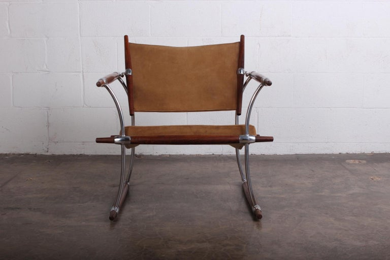Rosewood Jens Quistgaard 'Stokke' Lounge Chair For Sale