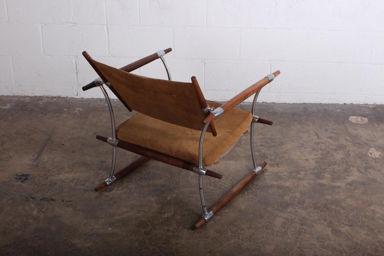 Jens Quistgaard 'Stokke' Lounge Chair For Sale 2