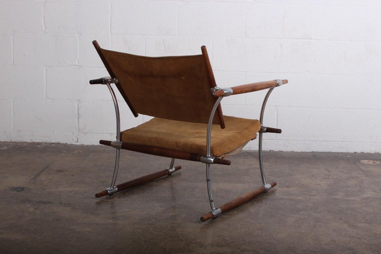 Jens Quistgaard 'Stokke' Lounge Chair For Sale 3