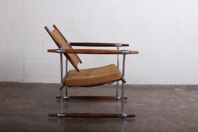 Jens Quistgaard 'Stokke' Lounge Chair For Sale 4