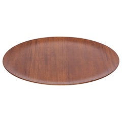 Jens Quistgaard Style Flat Teak Tray