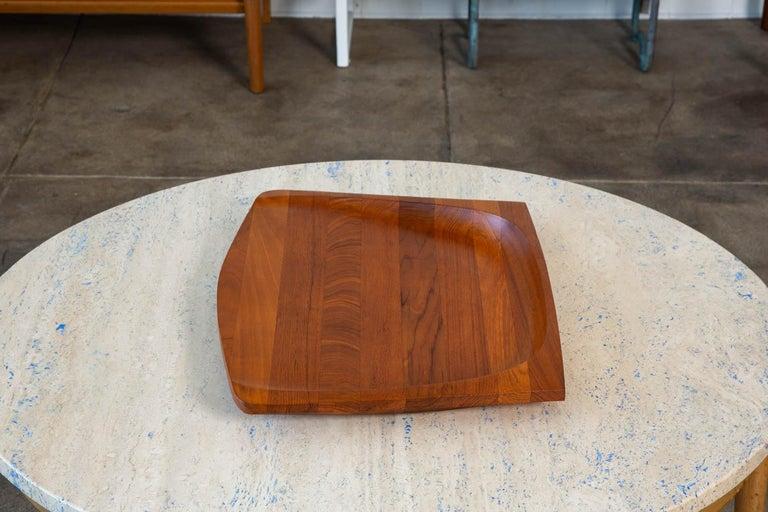 Oiled Jens Quistgaard Teak Serving Tray For Sale